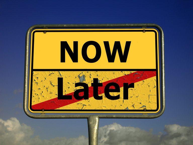 Prokrastination – Phänomen des Aufschiebens